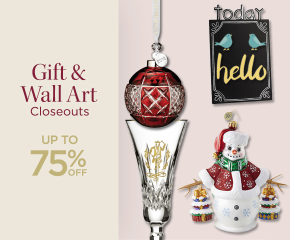 Gift and Wall Art Closeouts - Up To 75 Percent OFF