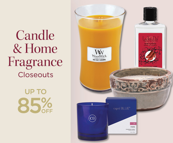 Candle and Home Fragrance Closeouts - Up To 85 Percent OFF