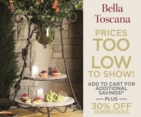 Bella Toscana - Prices Too Low To Show - Add to Cart for Additional Savings - Plus 30 Percent OFF Overstocks