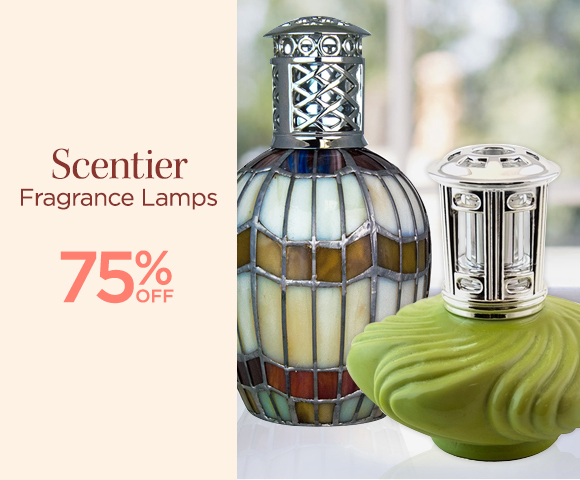 Scentier - Fragrance Lamps - 75 Percent OFF
