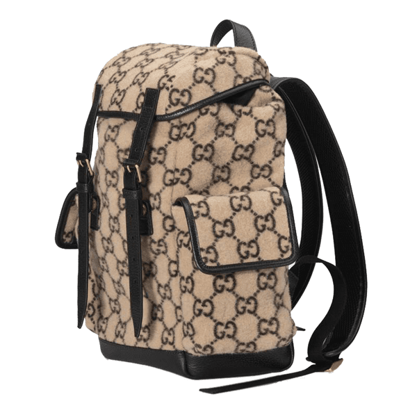 Gucci Large Wool Backpack