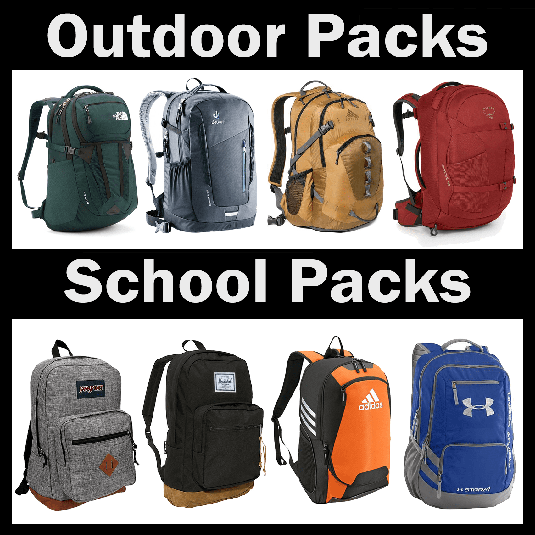 Fit any backpack!