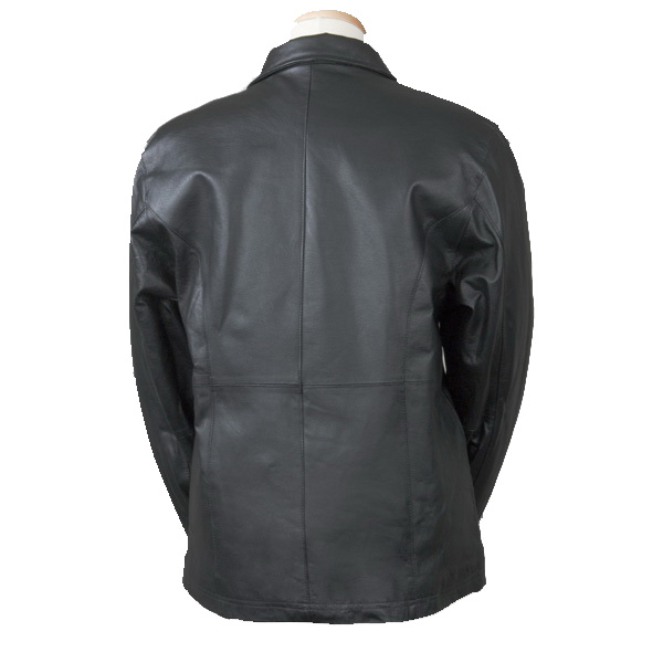 Bullet Blocker Bulletproof NIJ 3A Woman's Leather Back