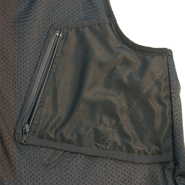Zippered Gun Pocket