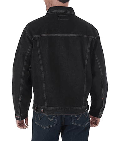 NIJ IIIA Denim Jacket in Black