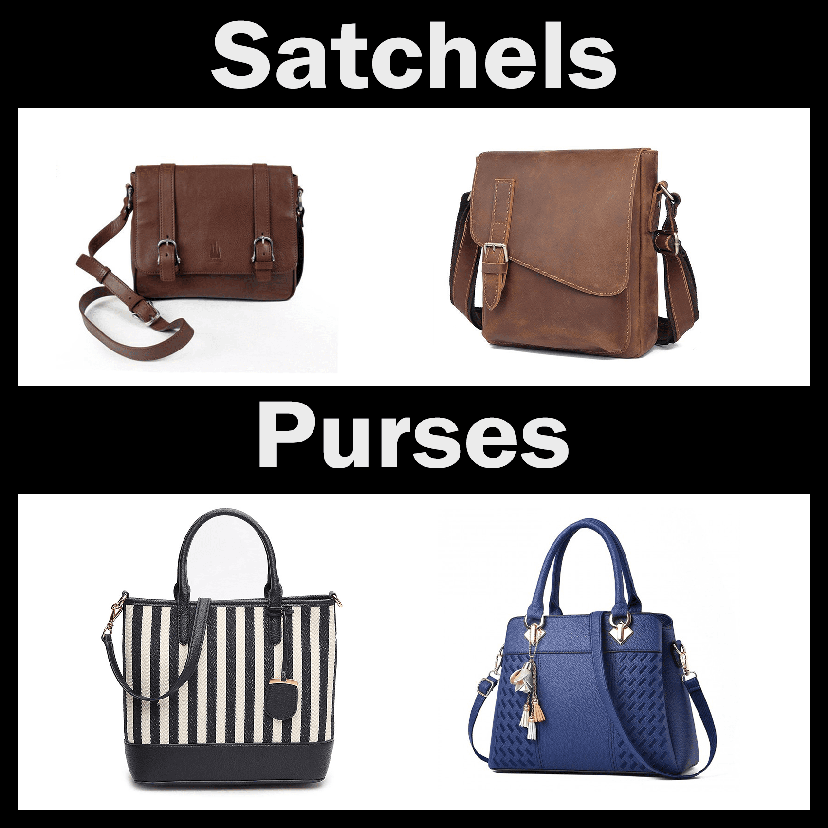 Fit any satchel or purse!