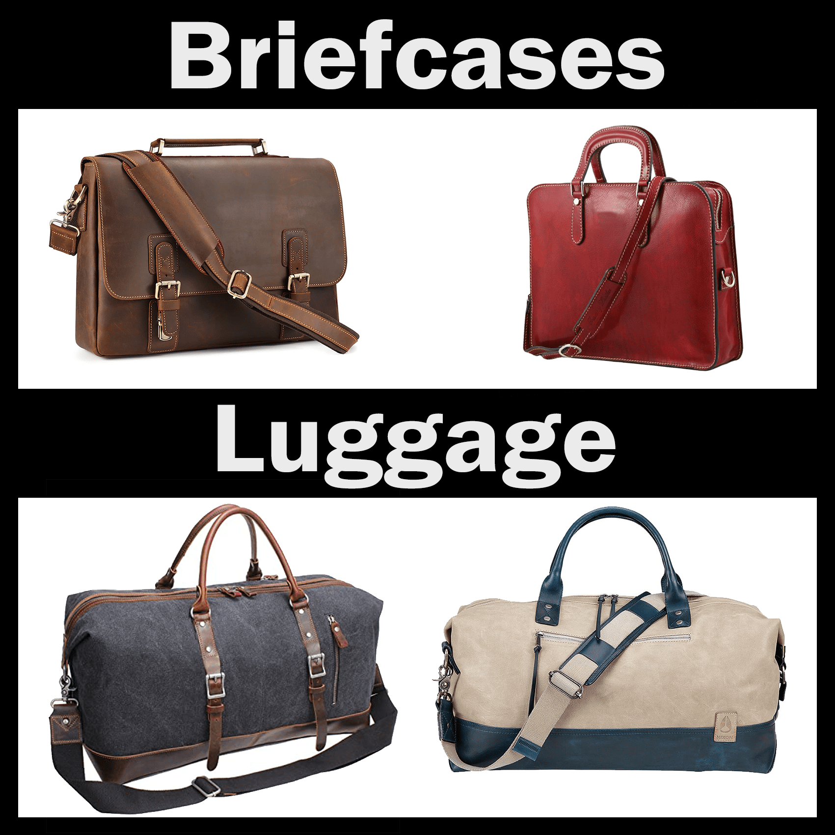 Fit any briefcase or luggage!