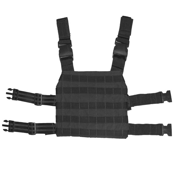 Bullet Blocker Level 3A Leg Rig Back