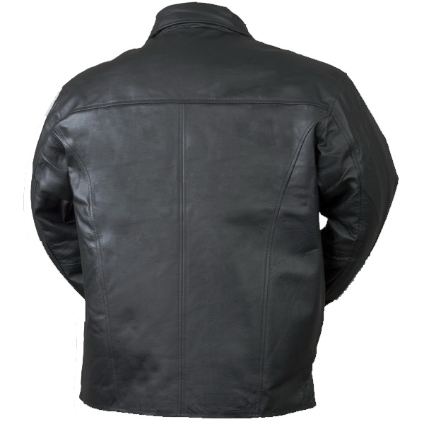 Bullet Blocker Bulletproof NIJ 3A Man's Leather Back
