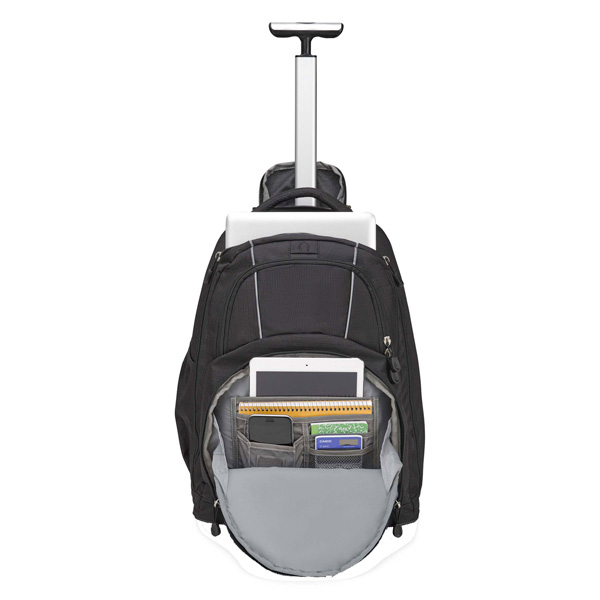 BulletBlocker NIJ IIIA Bulletproof Rolling Backpack Inside