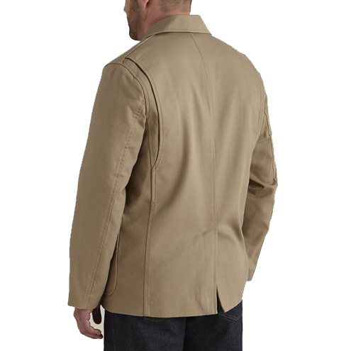 Bullet Blocker NIJ Leve 3A Fire Hose Bulletproof Jacket Back
