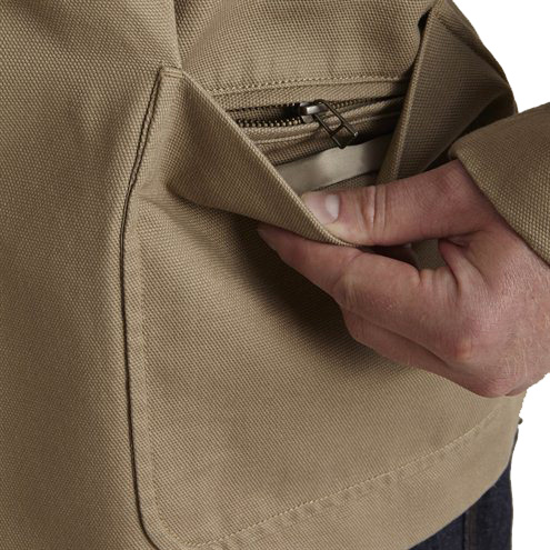Bullet Blocker NIJ Leve 3A Fire Hose Bulletproof Jacket Pocket