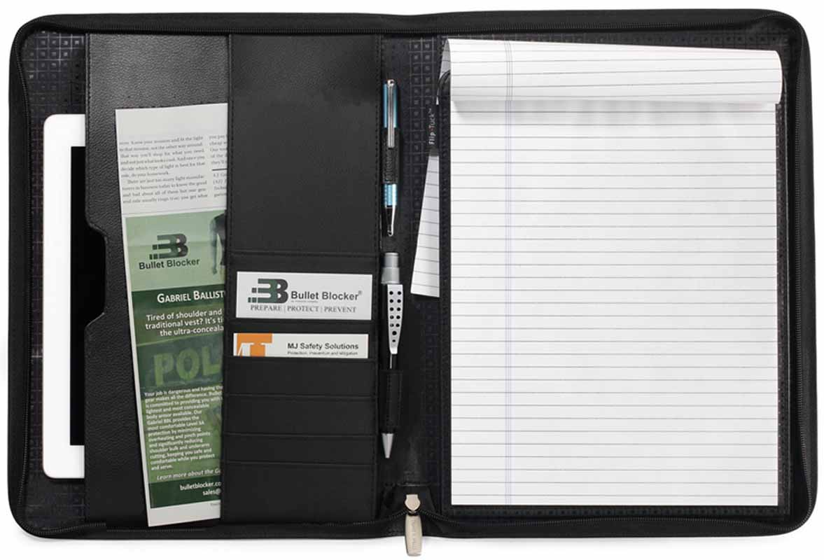 Bullet Blocker Folio