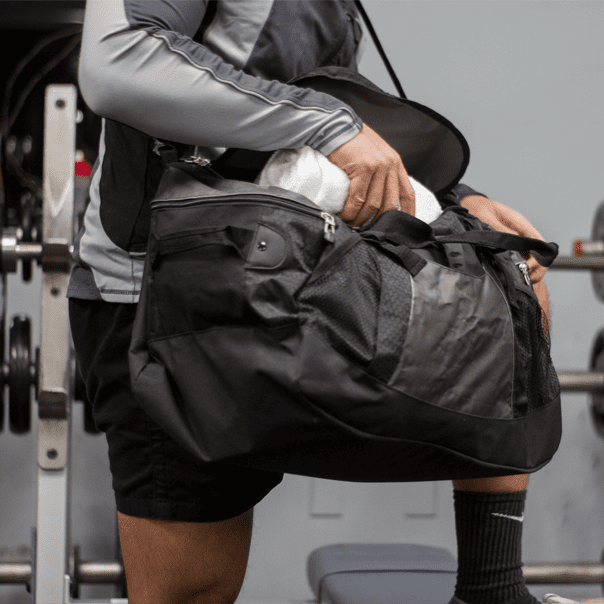 Gym Duffel In Use