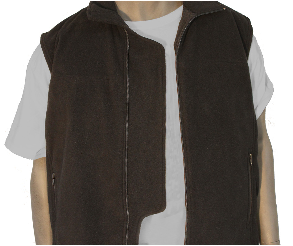 BulletBlocker NIJ IIIA Bulletproof Fleece Vest