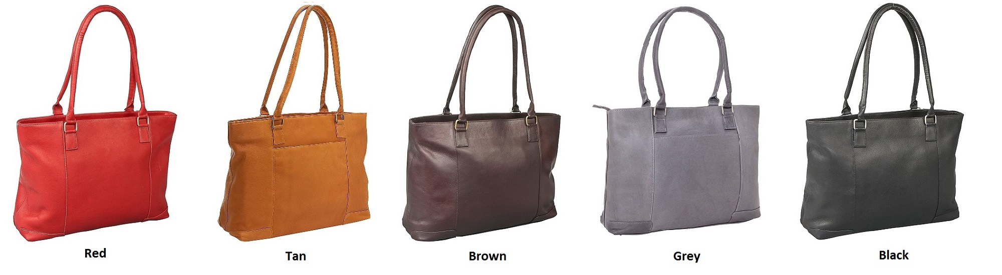 Leather Tote Color Options