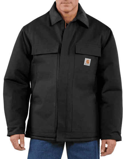Bulletproof Farm Coat in Black