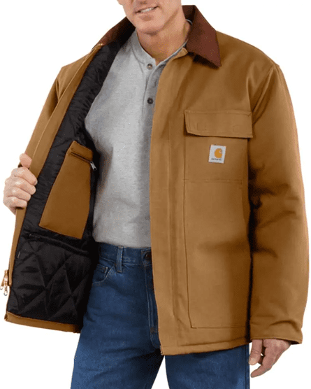 Bulletproof Farm Coat in Carhartt Brown