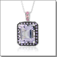Amethyst  Necklace at My Love Wedding Ring