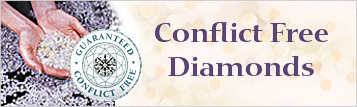 My Love Wedding Ring Guarantee Conflict Free Diamonds