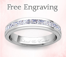 Fee engraving for rings and jewelry at my love wedding ring