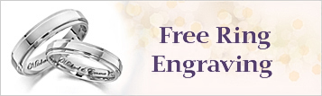 Engrave Rings for Free at My Love Wedding Ring