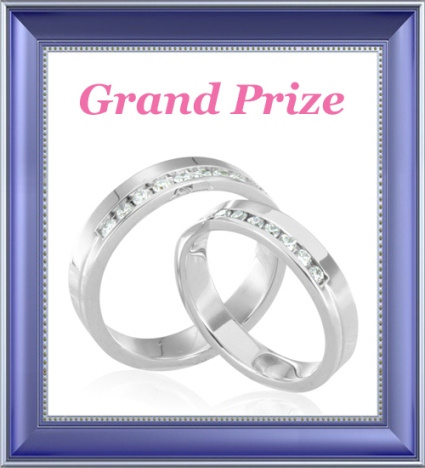 Grand Prize for Facebook Contest | My Love Wedding Ring