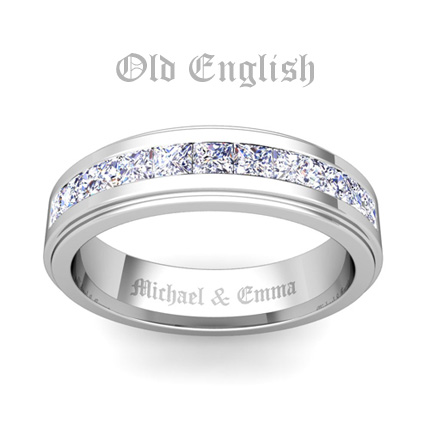 Ring engraving ideas for him