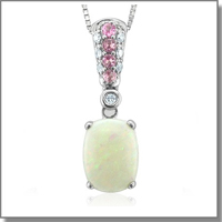 Opal Necklace at My Love Wedding Ring