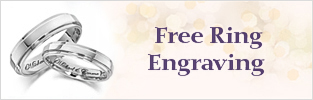 Engrave My Love Wedding Ring for Free