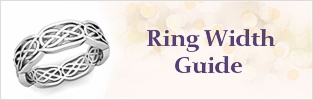 Ring width Guide at My Love Wedding Ring