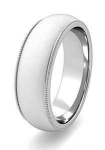 Satin Finish Wedding Bands at My Love Wedding Ring