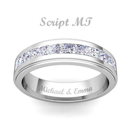 Engagement ring inscriptions