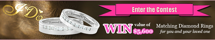 Facebook Jewelry Contest | My Love Wedding Ring