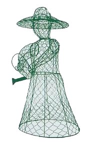 Wholesale Lady Gardening Topiary Wire Frame