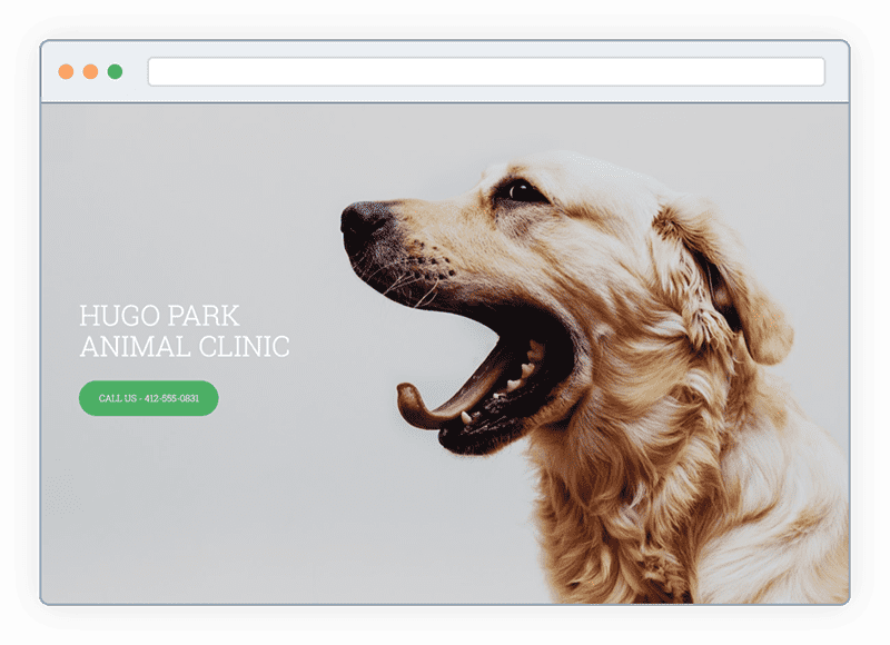 Create websites with our website builder yahoo small business animal clinic themes for website yahoo small business cheaphphosting Gallery